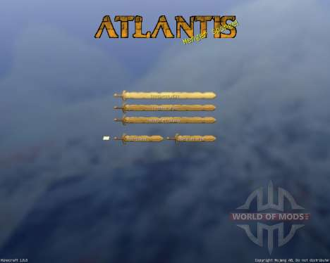 Royal Atlantean GUI Pack [16x][1.8.8] pour Minecraft