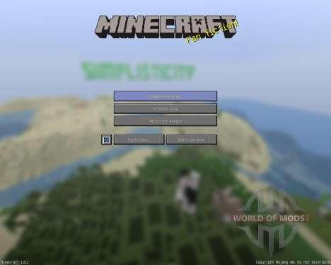 SimplistiCity RPack [16x][1.8.1] pour Minecraft