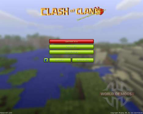 Clash of Mines Resource Pack [32x][1.8.8] pour Minecraft
