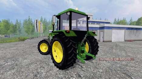 John Deere 3650 FL v2.0 für Farming Simulator 2015
