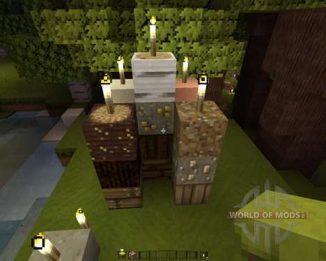 GreatWood Resource Pack [16x][1.8.8] pour Minecraft