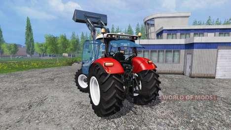 Steyr CVT 6230 v1.2 pour Farming Simulator 2015
