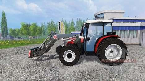 Steyr Kompakt 4095 front loader pour Farming Simulator 2015