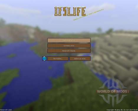 Ifs Life Cartoony Resource Pack [128x][1.8.8] pour Minecraft
