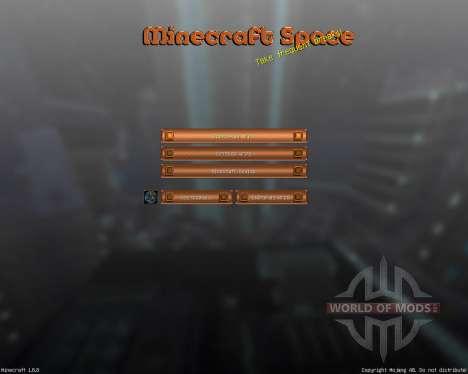 Norzeteus Space [128x][1.8.8] pour Minecraft