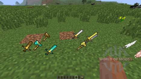Xaeros Special Attacks [1.6.4] pour Minecraft