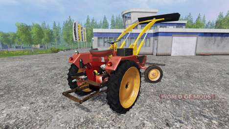 Fortschritt GT 124 frontlader fix pour Farming Simulator 2015
