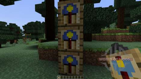 Wall Clock [1.7.10] pour Minecraft