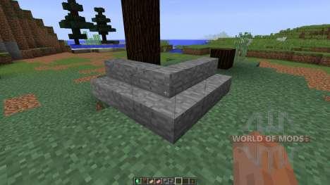 Roxas Stone Stair [1.8] pour Minecraft