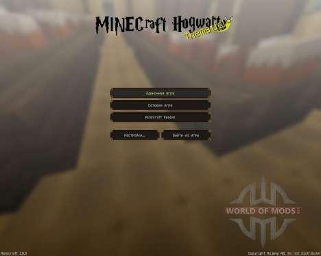 HOGWARTS [32x][1.8.8] pour Minecraft
