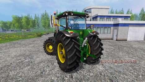 John Deere 7200R v2.0 pour Farming Simulator 2015
