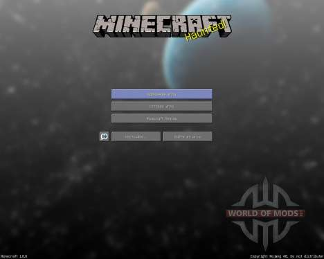 Faithful Reborn Animated Space Pack [64x][1.8.8] pour Minecraft