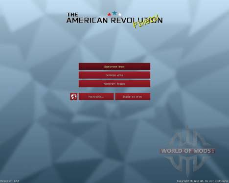 American Revolution Resource Pack [32x][1.8.8] für Minecraft