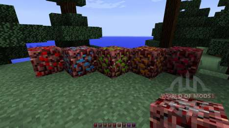 More Nether Ores [1.7.10] pour Minecraft
