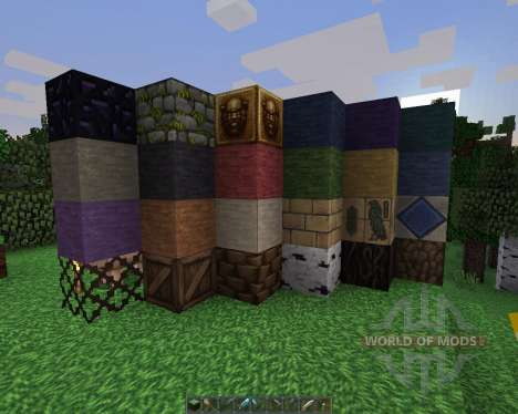 Derivation Reborn Resource Pack [32x][1.8.8] für Minecraft