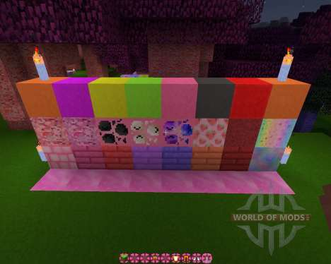 Kawaii World [16x][1.8.8] für Minecraft