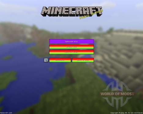 Endless Rainbow [16x][1.8.8] für Minecraft