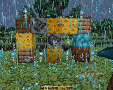 UHC Resource Pack Blue Fire Edition [16x][1.8.8] pour Minecraft