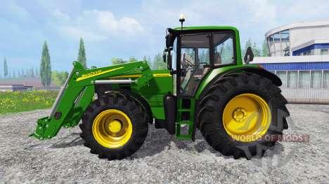 John Deere 6630 Premium front loader pour Farming Simulator 2015