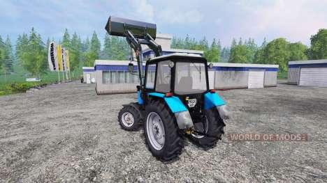 MTZ-82.1 FL v2.0 für Farming Simulator 2015