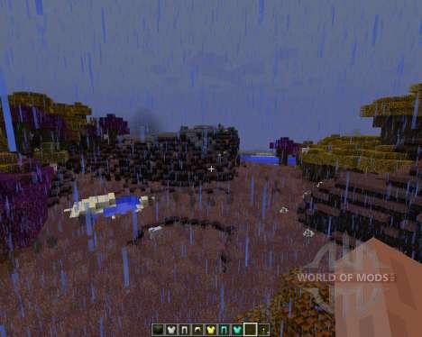 Norzeteus Space [128x][1.8.1] für Minecraft