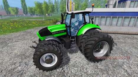 Deutz-Fahr Agrotron X 720 Ploughing Spec für Farming Simulator 2015