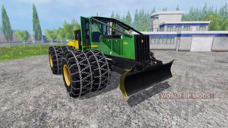John Deere 748H pour Farming Simulator 2015