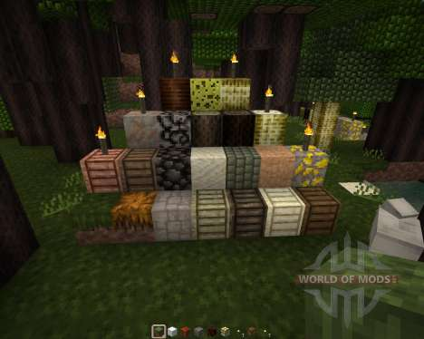 Axian Resource Pack [16x][1.8.1] pour Minecraft