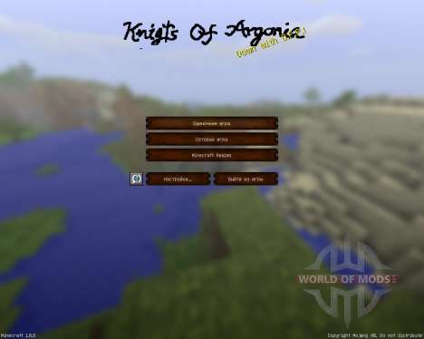 Knights Of Argonia [32x][1.8.8] pour Minecraft