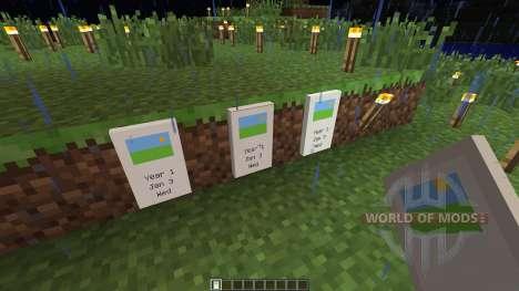Calendar [1.5.2] pour Minecraft