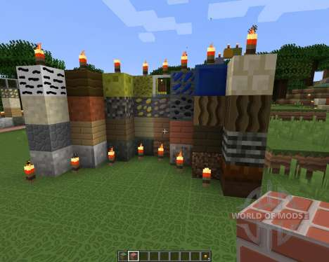 Smooth Cartoon Resource Pack [64x][1.8.8] pour Minecraft