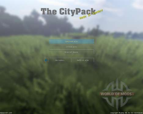 City Pack V0.7 [64x][1.8.8] für Minecraft