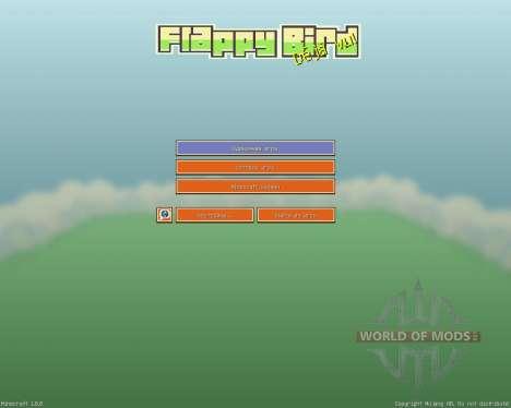 Flappy Bird Resource Pack [16x][1.8.8] pour Minecraft