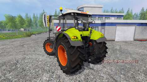 CLAAS Axion 850 v5.0 pour Farming Simulator 2015