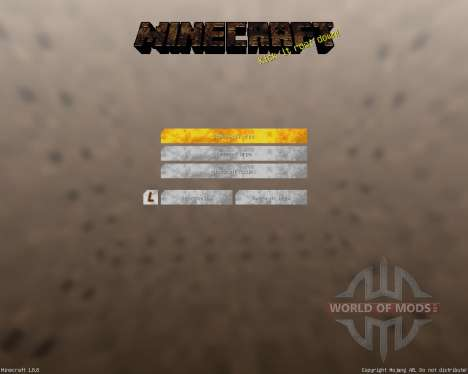 Industrial GUI Pack [16x][1.8.8] pour Minecraft