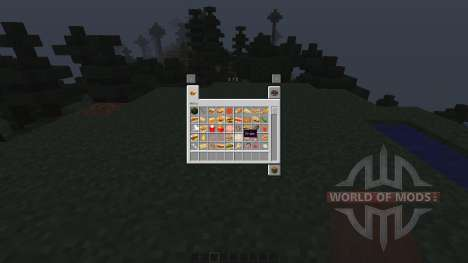 Fast Food Mod [1.7.10] pour Minecraft