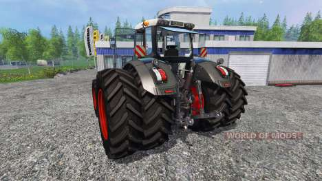 Fendt 828 Vario Black Beauty v2.0 pour Farming Simulator 2015