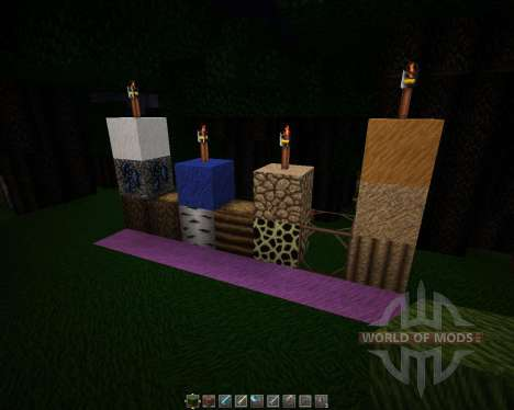 Davids Detailed Resource Pack [64x][1.8.8] pour Minecraft