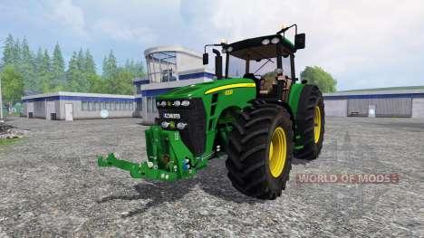 John Deere 8330 v2.1 für Farming Simulator 2015