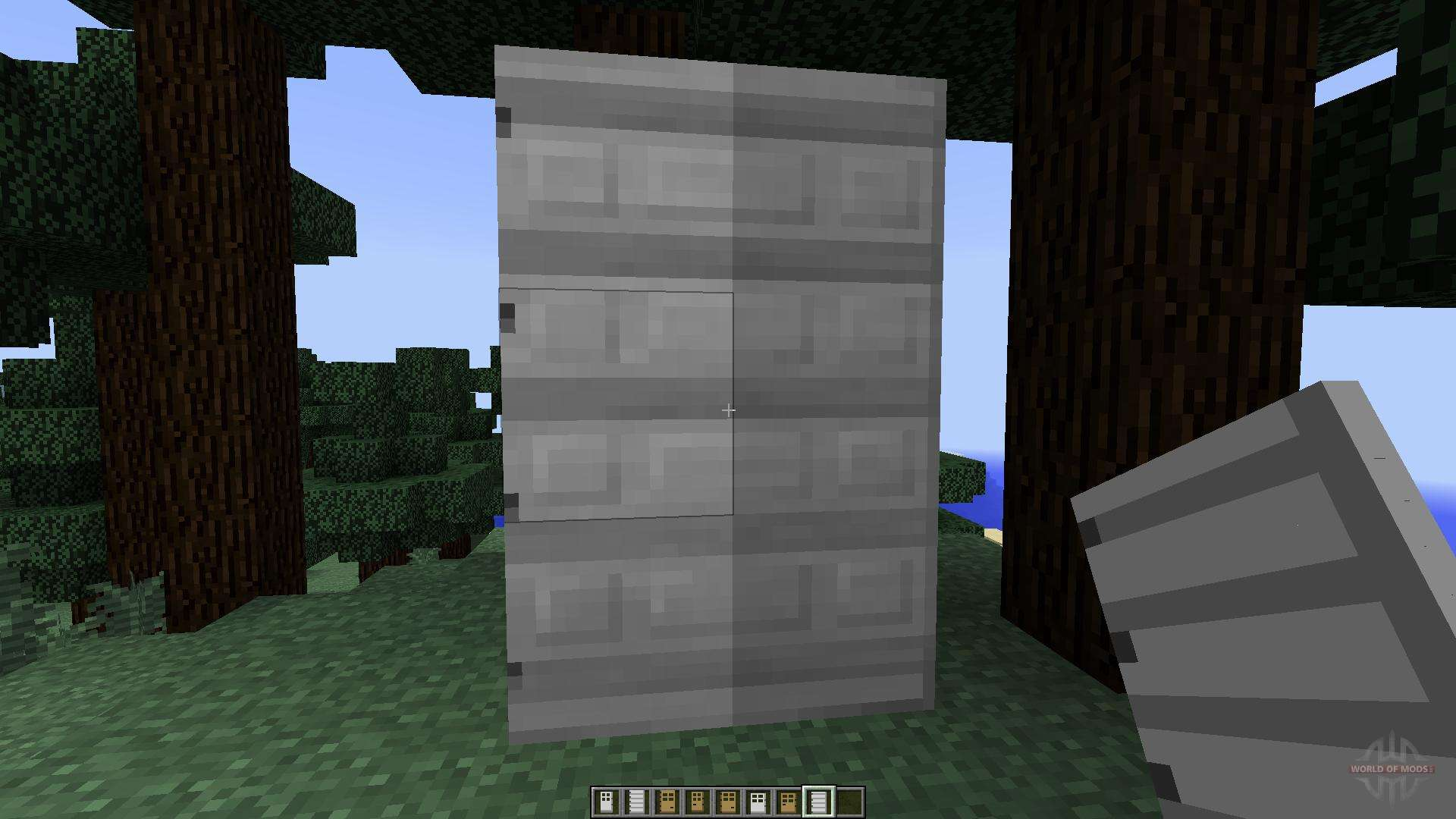 Roxas tall doors 1 f r minecraft - Minecraft dekoration ...