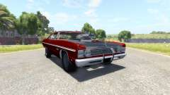 Plymouth Fury III 1969 pour BeamNG Drive