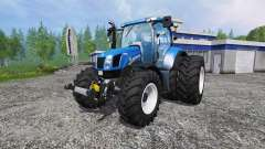 New Holland T6.175 twin wheels