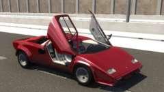 Lamborghini Countach für BeamNG Drive