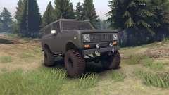 International Scout II 1977 gray für Spin Tires