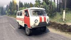 UAZ-3962 pour Spin Tires
