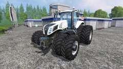New Holland T8.320 White Dualls für Farming Simulator 2015