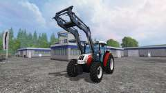 Steyr Kompakt 4095 front loader