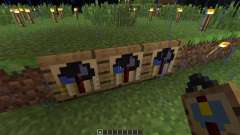 Wall Clock [1.5.2] für Minecraft