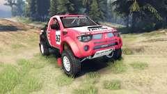Mitsubishi L200 Triton für Spin Tires
