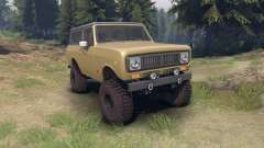 International Scout II 1977 buckskin pour Spin Tires